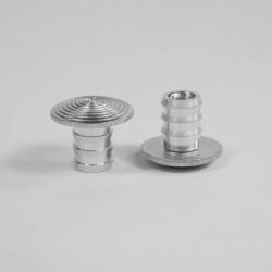 Cheville aluminium à frapper compatible avec nos clous podotactiles à sceller